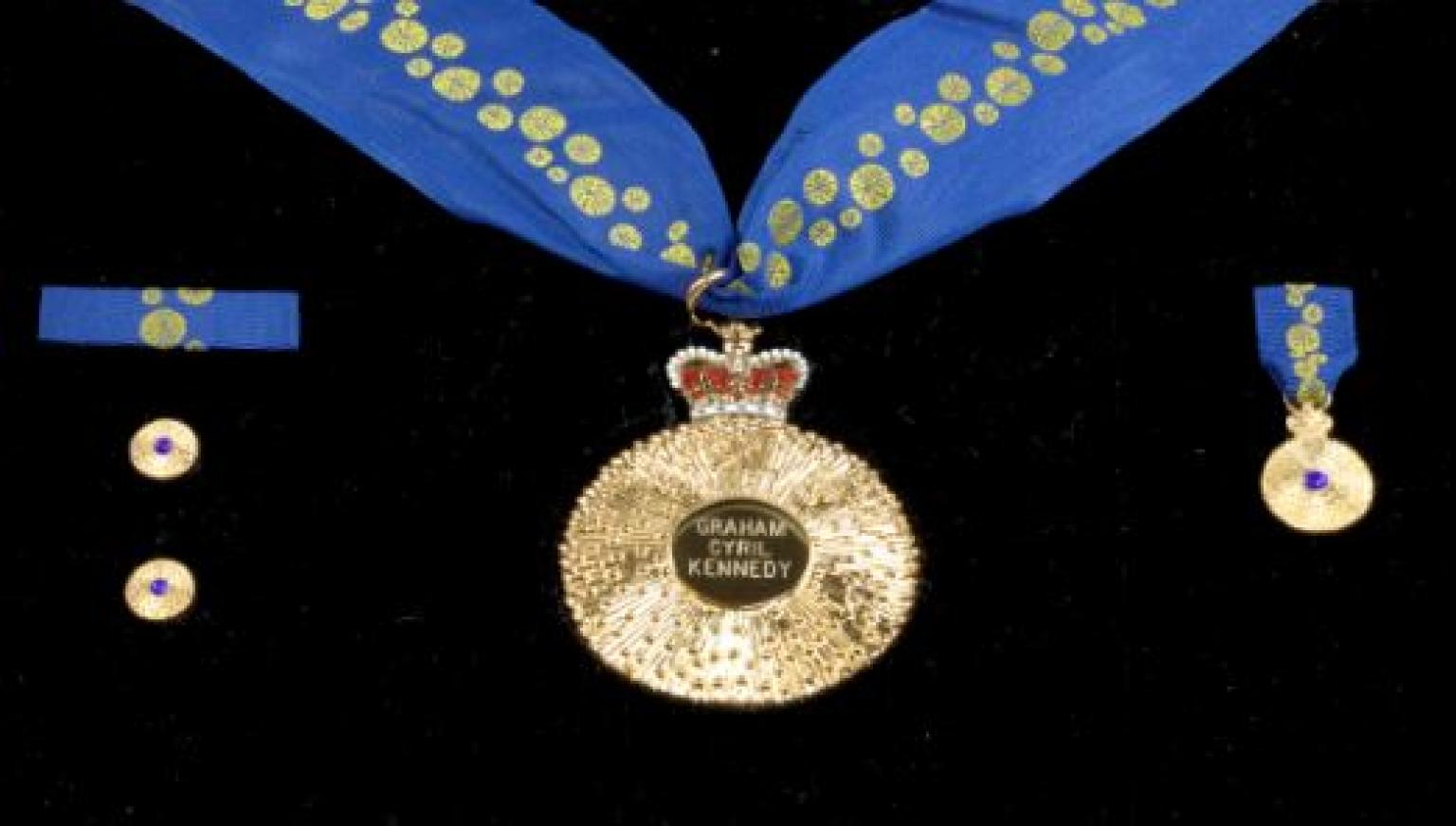 Graham Kennedy's Order of Australia