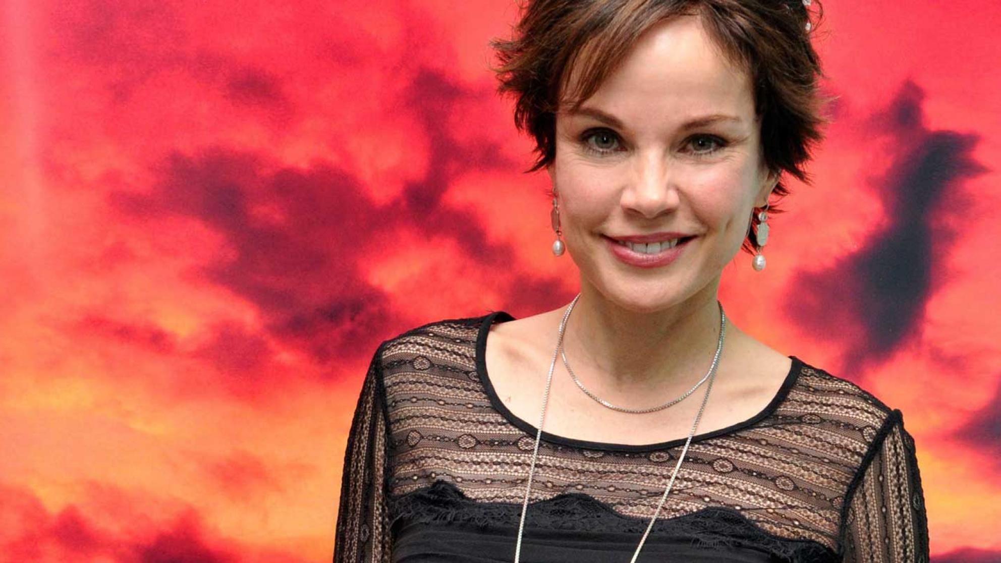 Actress Sigrid Thornton at the 2011 Longford Lyell Lecture