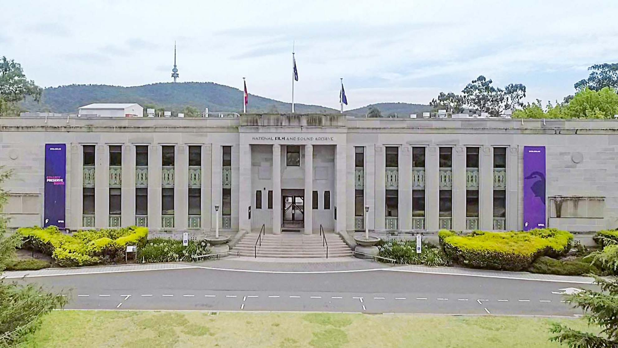 The NFSA building in Canberra